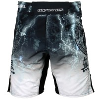 Шорты MMA Btoperform no retreat thunder white fs-03w