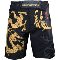 Шорты MMA Btoperform golden dragon fs-64